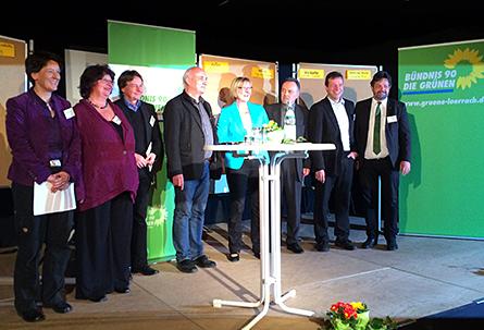 Grüne Abgeordnete an der Regionalkonferenz IM GRÜNEN DAHEIM in Schönau